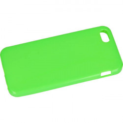 ETUI JELLY IPHONE 5 5G 5S ZIELONY