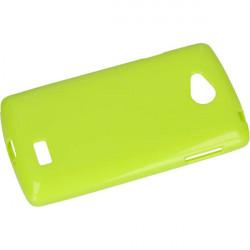 JELLY ETUI NA TELEFON LG F60 D390 ZIELONY