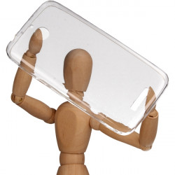 CLEAR 0.3mm ETUI NA TELEFON HTC DESIRE 510 TRANSPARENTNY