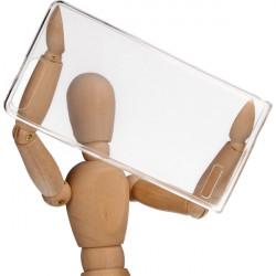 CLEAR 0.3mm ETUI NA TELEFON HUAWEI P7 MINI TRANSPARENTNY