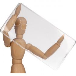 CLEAR 0.3mm ETUI NA TELEFON HUAWEI MATE 8 NXT-AL00 TRANSPARENTNY