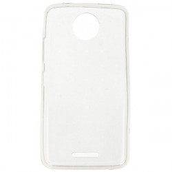 CLEAR 0.3mm ETUI NA TELEFON LENOVO MOTO C TRANSPARENTNY