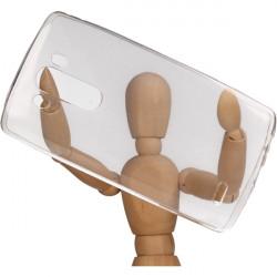 CLEAR 0.3mm ETUI NA TELEFON LG G3 D855 TRANSPARENTNY