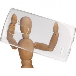 CLEAR 0.3mm ETUI NA TELEFON LG G4 H815 TRANSPARENTNY