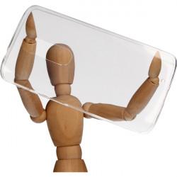 CLEAR 0.3mm ETUI NA TELEFON MOTOROLA DROID TURBO 2 TRANSPARENTNY