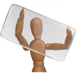 CLEAR 0.3mm ETUI NA TELEFON MICROSOFT LUMIA 540 RM-1141 TRANSPARENTNY
