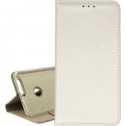 ETUI BOOK MAGNET HUAWEI HONOR 8 METALIC