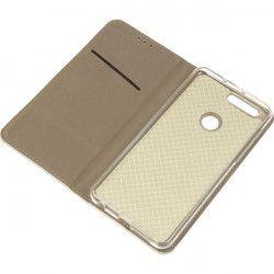 BOOK MAGNET ETUI NA TELEFON HUAWEI HONOR 8 FRD-L02 METALIC