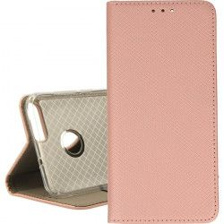 ETUI BOOK MAGNET HUAWEI P SMART ROSE GOLD