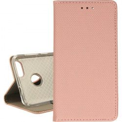 ETUI BOOK MAGNET HUAWEI P9 LITE MINI ROSE GOLD