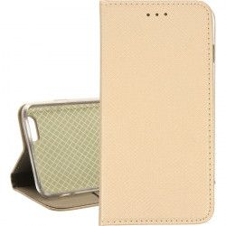 BOOK MAGNET ETUI NA TELEFON IPHONE 6 PLUS/6S PLUS A1522 ZŁOTY
