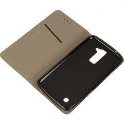 BOOK MAGNET ETUI NA TELEFON LG K10 K420N  CZARNY