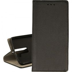 BOOK MAGNET ETUI NA TELEFON LG K8 K350 CZARNY