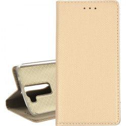 BOOK MAGNET ETUI NA TELEFON LG K8 K350 ZŁOTY
