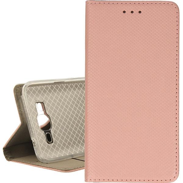 BOOK MAGNET ETUI NA TELEFON SAMSUNG GALAXY GRAND PRIME G530 ROSE GOLD