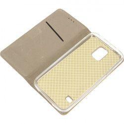 BOOK MAGNET ETUI NA TELEFON SAMSUNG GALAXY S5 I9600 ZŁOTY