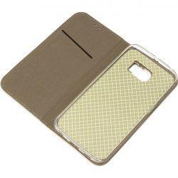 BOOK MAGNET ETUI NA TELEFON SAMSUNG GALAXY S6 EDGE G925 METALIC