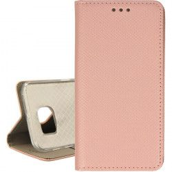 BOOK MAGNET ETUI NA TELEFON SAMSUNG GALAXY S6 EDGE G925 ROSE GOLD