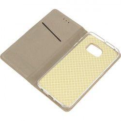 BOOK MAGNET ETUI NA TELEFON SAMSUNG GALAXY S6 EDGE G925 ZŁOTY