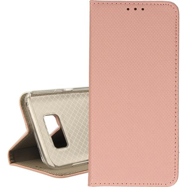 BOOK MAGNET ETUI NA TELEFON SAMSUNG GALAXY S8 PLUS ROSE GOLD
