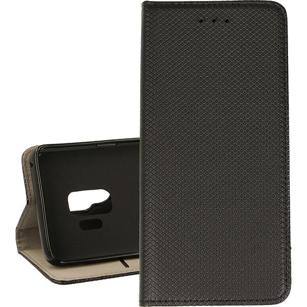 BOOK MAGNET ETUI NA TELEFON SAMSUNG GALAXY S9 G960 CZARNY