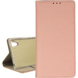 ETUI BOOK MAGNET SONY XPERIA XA1 ROSE GOLD