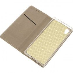 BOOK MAGNET ETUI NA TELEFON SONY XPERIA XA1 G3121 ZŁOTY