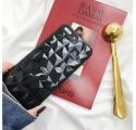 GEOMETRIC ETUI NA TELEFON SAMSUNG GALAXY J3 2017 J330 CZARNY