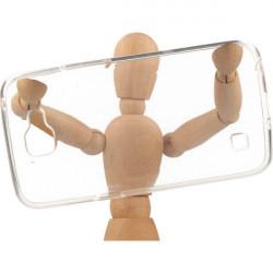 CLEAR 0.5mm ETUI NA TELEFON LG K4 K130 TRANSPARENTNY