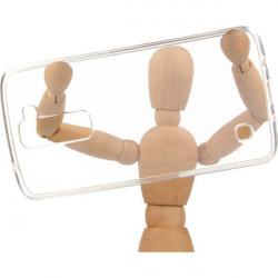 CLEAR 0.5mm ETUI NA TELEFON LG K7 X210 TRANSPARENTNY