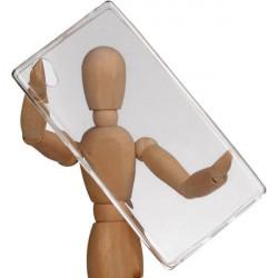 CLEAR 0.5mm ETUI NA TELEFON LENOVO MOTO C TRANSPARENTNY