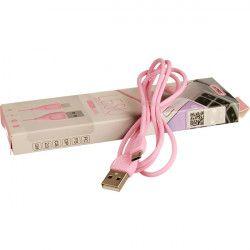 KABEL USB MICRO REMAX RC-050m RÓŻOWY