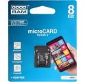 KARTA PAMIĘCI GOODRAM MICRO SD 8GB CLASS 4