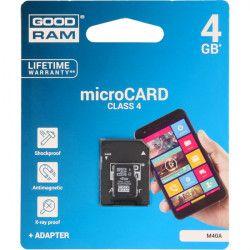 KARTA PAMIĘCI GOODRAM MICRO SD 4GB CLASS 4