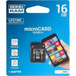 KARTA PAMIĘCI GOODRAM MICRO SD 16GB CLASS 4