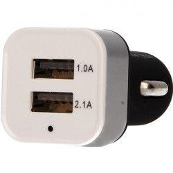 PRZEJŚCIE SAMOCHODOWE USB 2x USB CZARNY