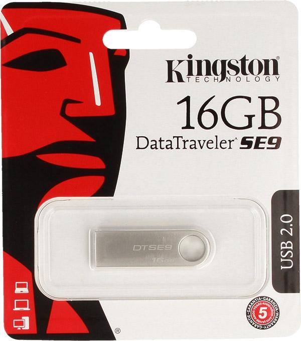 PAMIĘĆ USB PENDRIVE KINGSTON 16GB