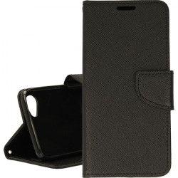 BOOK FANCY ETUI NA TELEFON HTC Desire 12 CZARNY