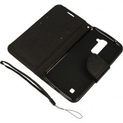 BOOK FANCY ETUI NA TELEFON LG K10 K430 K10 LTE CZARNY