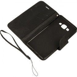BOOK FANCY ETUI NA TELEFON SAMSUNG GALAXY A5 A500 CZARNY