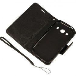BOOK FANCY ETUI NA TELEFON SAMSUNG GALAXY ACE 4 LTE G357 CZARNY