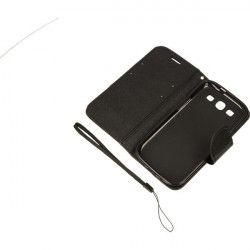 BOOK FANCY ETUI NA TELEFON SAMSUNG GALAXY S3 I9300 CZARNY