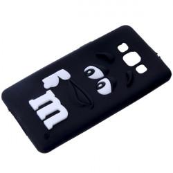 GUMA 3D M&M'S ETUI NA TELEFON SAMSUNG GALAXY A5 CZARNY