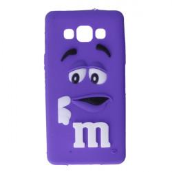 GUMA 3D M&M'S ETUI NA TELEFON SAMSUNG GALAXY A5 FIOLETOWY