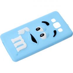 GUMA 3D M&M'S ETUI NA TELEFON SAMSUNG GALAXY A5 NIEBIESKI