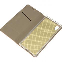 BOOK MAGNET ETUI NA TELEFON SONY XPERIA XA1 G3121 ROSE GOLD
