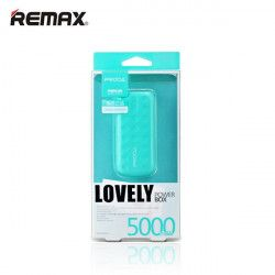 BATERIA POWER BANK REMAX PRODA LOVELY 5000mAh NIEBIESKI
