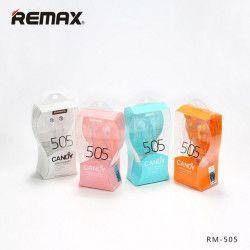 SŁUCHAWKI REMAX RM-505 CZERWONY
