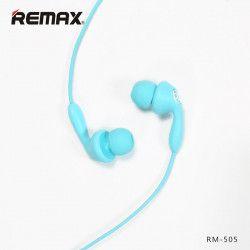 SŁUCHAWKI REMAX RM-505 NIEBIESKIE