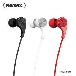 SŁUCHAWKI REMAX RM-569 CZERWONE